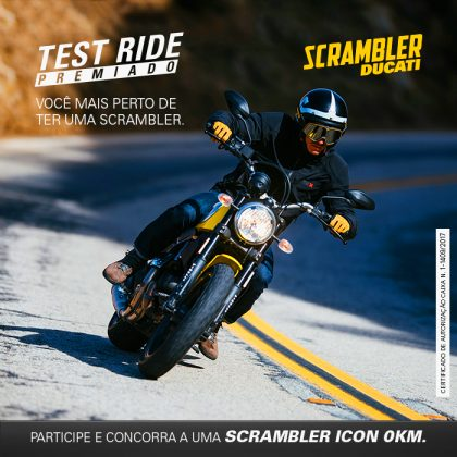 Test Ride Premiado